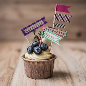 """カップケーキを可愛くデコレーションしよう!<FONT color=""""#e95295""""><工場蚤の市2017></FONT>"""