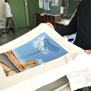 """オリジナルデザインのプリントTシャツを作ろう!<FONT color=""""#e95295""""><工場蚤の市2017></FONT>"""