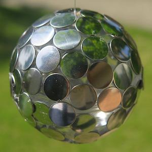 """かわいいプチミラーボールをつくろう!<FONT color=""""#ea5404""""><1周年記念感謝祭></FONT>"""