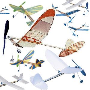 """ゴム動力飛行機を、作って飛ばして、空飛ぶ秘密を見つけよう!<FONT color=""""#e95295""""><工場蚤の市2017></FONT>"""