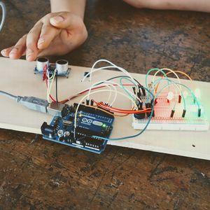 """夏休み 親子で電子工作<small>~光と音、暮らしの中に電子工作を~<FONT color=""""#ea5404"""">[三条ものづくり学校共催]</font></small>"""