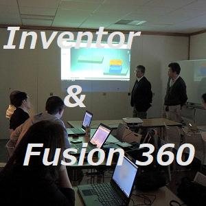 Inventor & Fusion 360 勉強会@新潟燕三条
