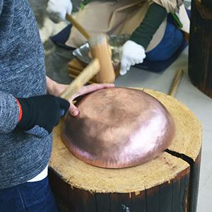 鎚起銅器 銅鍋づくり体験 #41