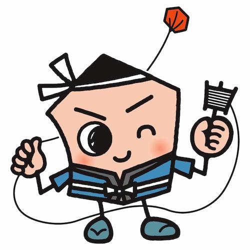 """キャラクター凧に色を付けよう!<font color=""""#e95295"""">/産地の祭典</font>"""